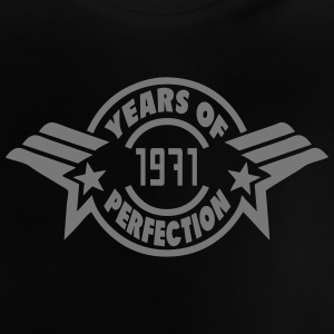 1971 years perfection logo anniversaire Tee shirts - T-shirt Bébé