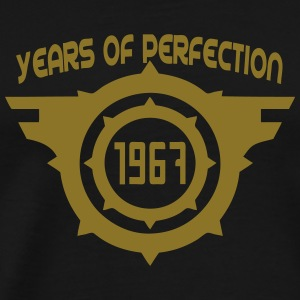 1967 years perfection Geburtstag Langarmshirts - Männer Premium T-Shirt