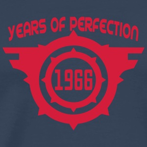 1966 years perfection Geburtstag Langarmshirts - Männer Premium T-Shirt