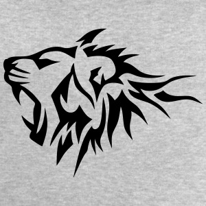 lion tribal tatouage dessin 14026 Tee shirts manches longues - Sweat-shirt Homme Stanley & Stella