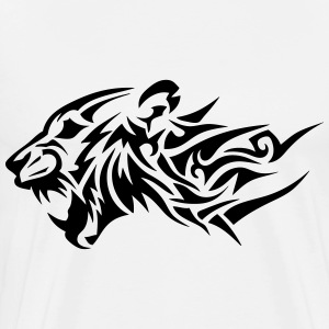lion tribal tatouage dessin 14024 Sweat-shirts - T-shirt Premium Homme