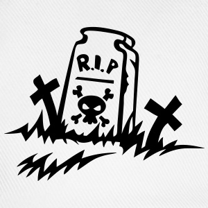 rip reste in peace tombe dessin Tee shirts - Casquette classique