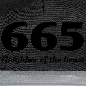 665 Neighbor of the Beast T-Shirts - Snapback Cap