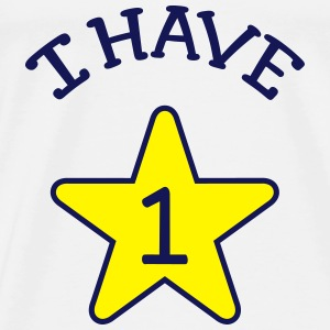 I Have 1 Shirts - Mannen Premium T-shirt
