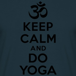 Keep calm and Do Yoga Sweat-shirts - T-shirt Homme