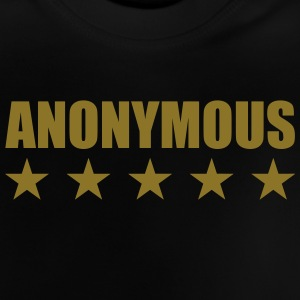 Anonymous Tee shirts - T-shirt Bébé