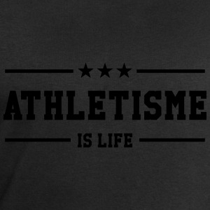 Athletisme is life Tee shirts - Sweat-shirt Homme Stanley & Stella