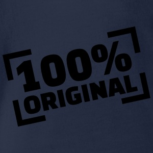 100% Original T-Shirts - Baby Bio-Kurzarm-Body