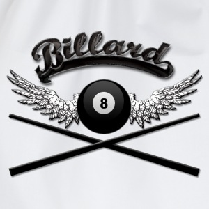 Billard Logo T-Shirts - Drawstring Bag
