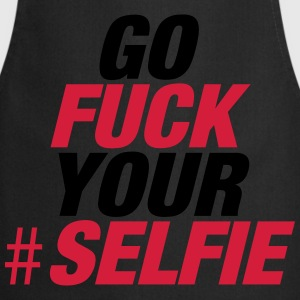 Noir Go Fuck Your Selfie Tee shirts - Tablier de cuisine