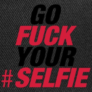 Fuck Your Selfie T-Shirts - Snapback Cap