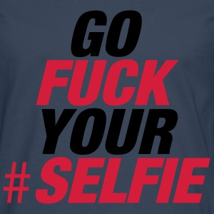 Marine Go Fuck Your Selfie Sweat-shirts - T-shirt manches longues Premium Homme