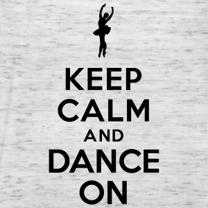 Keep calm and Dance on Sweat-shirts - Débardeur Femme marque Bella