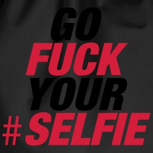 Fuck Your Selfie T-Shirts - Turnbeutel