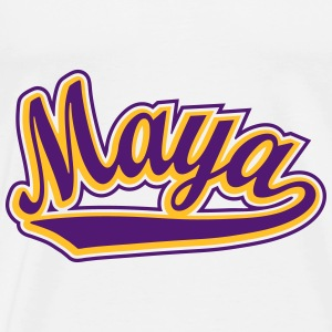 Maya - T-shirt customised with your name Shirts - Men's Premium T-Shirt