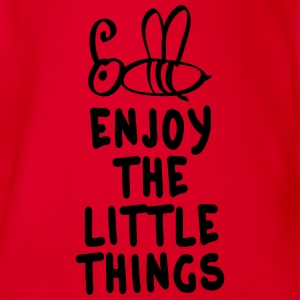 enjoy the littlet hings 1c Tee shirts manches longues - Body bébé bio manches courtes