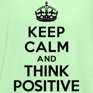 Keep calm and Think Positive Sweat-shirts - Débardeur Femme marque Bella