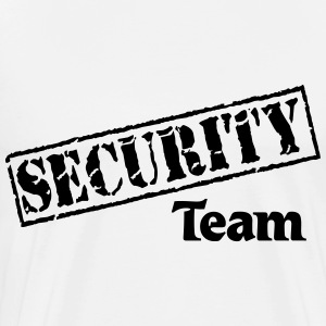 Security Team Long sleeve shirts - Men's Premium T-Shirt