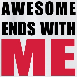 Awesome ends with ME Shirts - Drawstring Bag