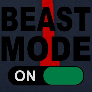 BEAST MODE ON Caps & Hats - Contrast Colour Hoodie
