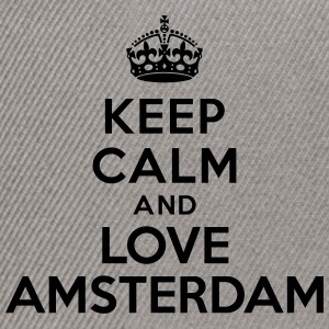 Keep calm and Love Amsterdam Sweat-shirts - Casquette snapback
