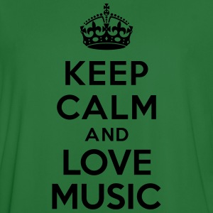 Keep calm and Love Music Sweat-shirts - Maillot de football Homme