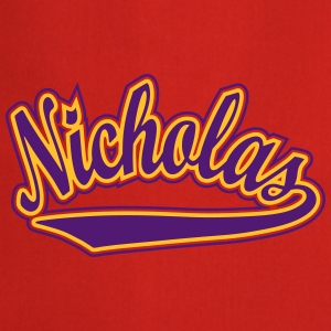 Nicholas - T-shirt personalised with your name T-Shirts - Cooking Apron