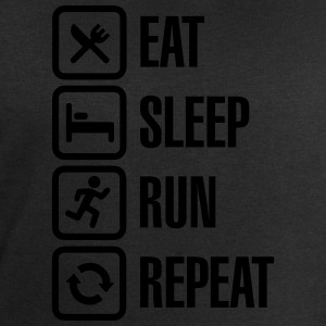 Eat sleep run repeat T-Shirts - Men's Sweatshirt by Stanley & Stella