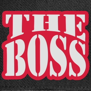 The Boss T-Shirts - Snapback Cap