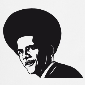 OBAMA BLACK 01 Tee shirts - Tablier de cuisine