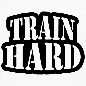 Train hard T-Shirts - Men's Premium Longsleeve Shirt