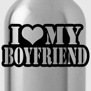I love my boyfriend T-shirts - Drinkfles
