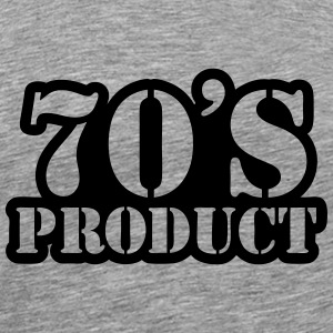 70's product Long sleeve shirts - Men's Premium T-Shirt