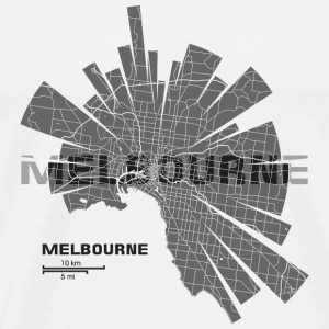 Melbourne Bottles & Mugs - Men's Premium T-Shirt