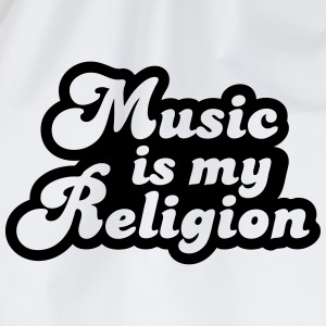 Music is my religion Tee shirts - Sac de sport léger