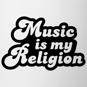 Music is my religion T-shirts - Kop/krus