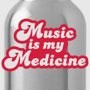 Music is my Medicine T-Shirts - Water Bottle