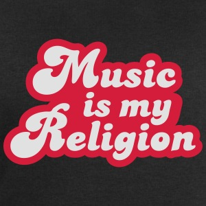 Music is my Religion T-shirts - Herresweatshirt fra Stanley og Stella