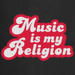 Music is my Religion Tee shirts - Tablier de cuisine