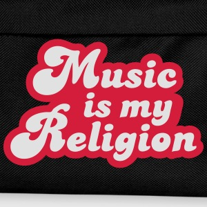 Music is my Religion Tee shirts - Sac à dos Enfant