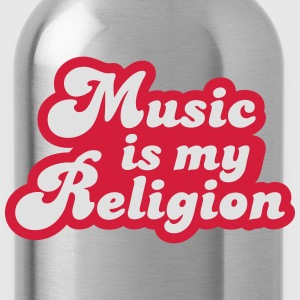 Music is my Religion T-shirts - Vattenflaska