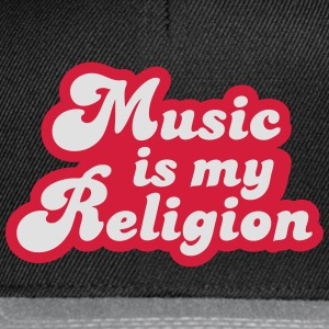 Music is my Religion Tee shirts - Casquette snapback