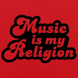 Music is my religion Tee shirts - Tote Bag