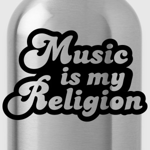 Music is my religion Tee shirts - Gourde