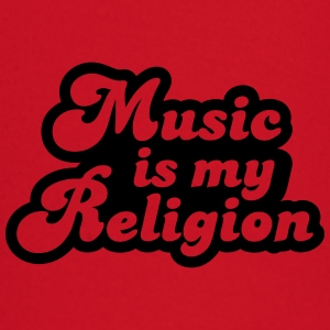 Music is my religion T-shirts - Långärmad T-shirt baby