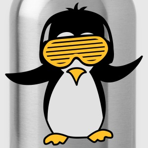 Party DJ Feiern Musik Funky Pinguin T-Shirts - Trinkflasche