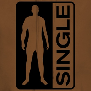 Single Man Tee shirts - Sweat-shirt à capuche Premium pour femmes
