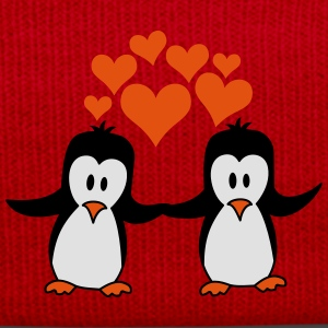 Love couple love penguins T-Shirts - Winter Hat