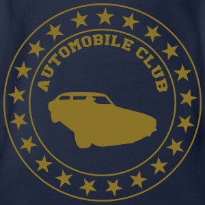 Automobile Club T-Shirts - Baby Bio-Kurzarm-Body