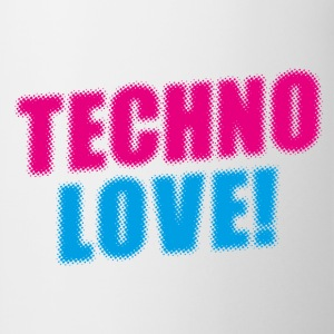 Techno Love! T-Shirts - Tasse